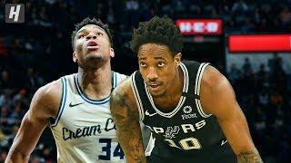 Milwaukee Bucks vs San Antonio Spurs - Full Game Highlights | January 6, 2020 | 2019-20 NBA Season