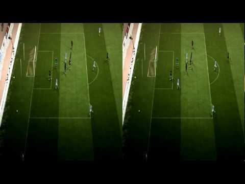 IN 3D HD - 3-0 - EPl Week 3 - Manchester City VS Wigan Athletic