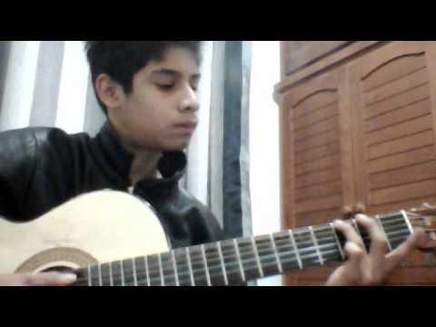 cancion romantica en guitarra
