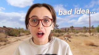 ALONE IN THE DESERT *BAD IDEA LOL*