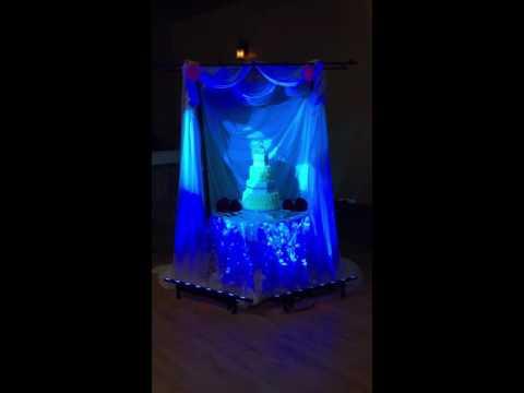 Cake Uplighting - Armed With Harmony DJ Saskatoon