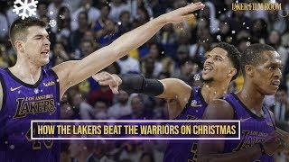 How the Lakers Beat the Warriors on Christmas