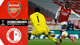 Arsenal vs. Slavia Prague: Extended Highlights | UCL on CBS Sports