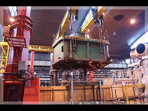 SCS Heavy Lifts removing a 67 year old press in Hungary