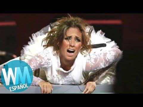 ¡Top 10 Momentos más BOCHORNOSOS en VIÑA DEL MAR!
