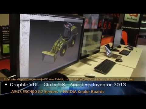 Tecnologías 3D Graphics VDI . La experiencia de un potente Workstation desde cualquier dispositivo.