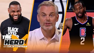 'Everything's coming together for LeBron' — Colin on Nuggets' upset over Clippers | NBA | THE HERD