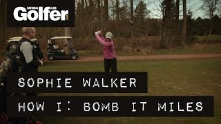 Sophie Walker: How I hit a long drive - The Golf Shack Academy