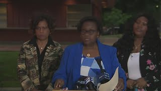 Live coverage of James Byrd Jr's family statement after the execution
