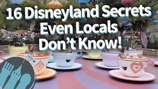 16 Disneyland Secrets Even Locals Don't Know!