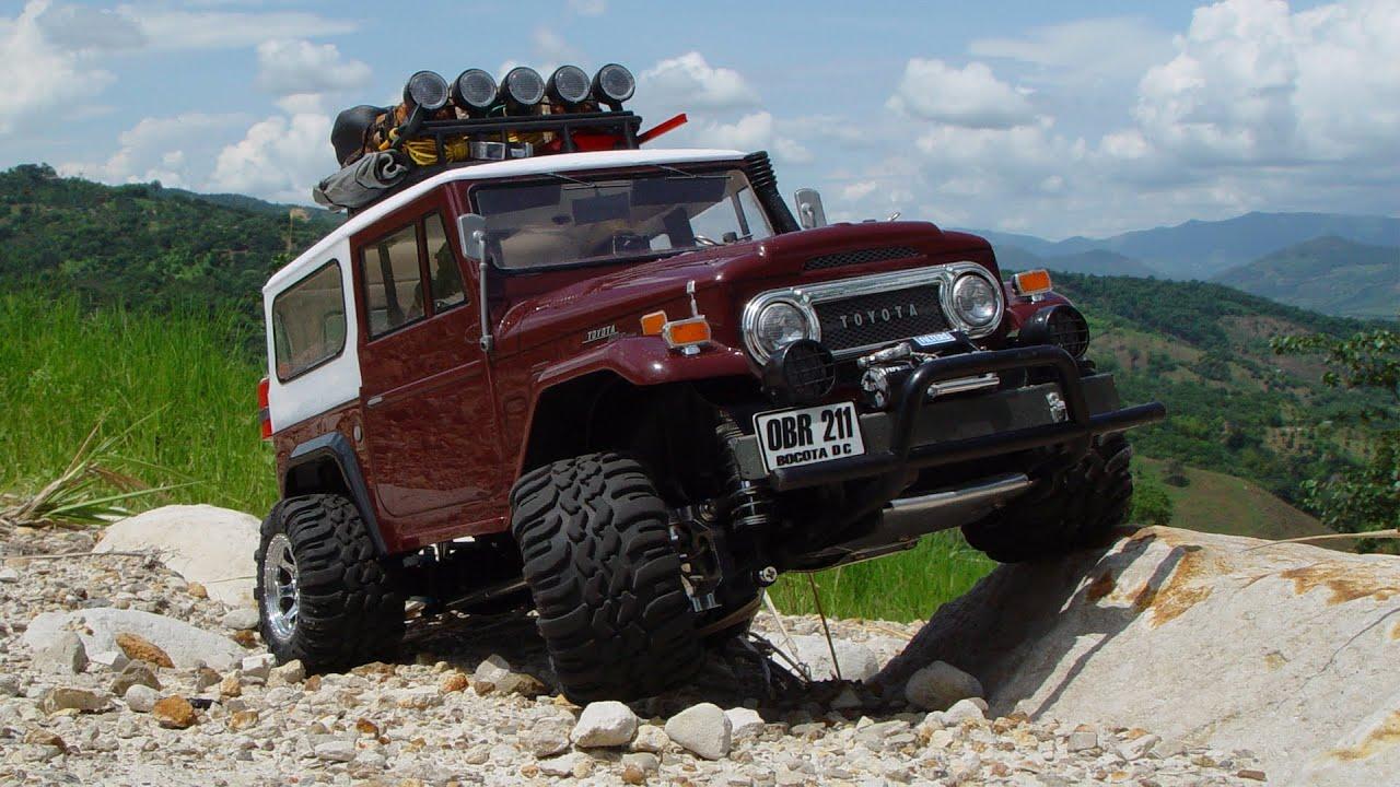 RC 4x4 Scale. toyota truck - YouTube