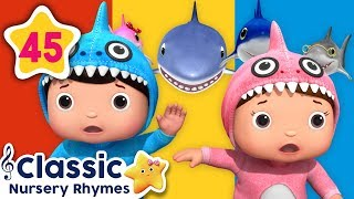 Baby Shark Special!   All Baby Shark Songs   +More Classic Nursery Rhymes   Little Baby Bum