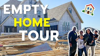 EMPTY HOUSE TOUR: FRAMING STAGE | HOME BUILDING | NEWTONS FAMILY BLOG