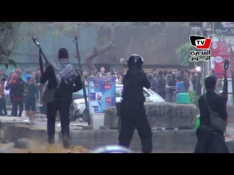 الشرطة تفض مظاهرة لـ«الإخوان» بـ«الغاز والخرطوش» في «الألف مسكن»