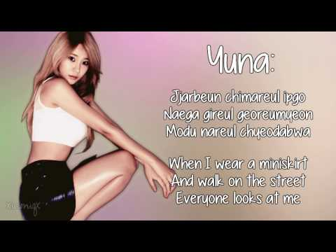 AOA - Miniskirt [Eng Sub, Member Coded + Romanisation] HD