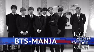 BTS-Mania At The Ed Sullivan Theater