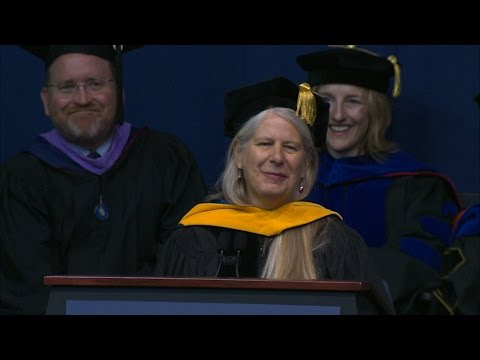 Dr. Jill Bolte Taylor Commencement Address 2016