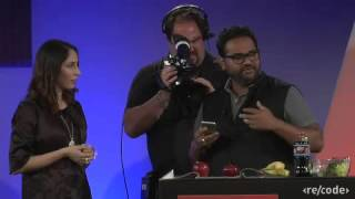 Code conference: Lauren Goode interviews Ambarish Mitra of Blippar Feb 2016