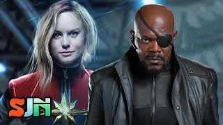Nick Fury Teams Up With Captain Marvel!