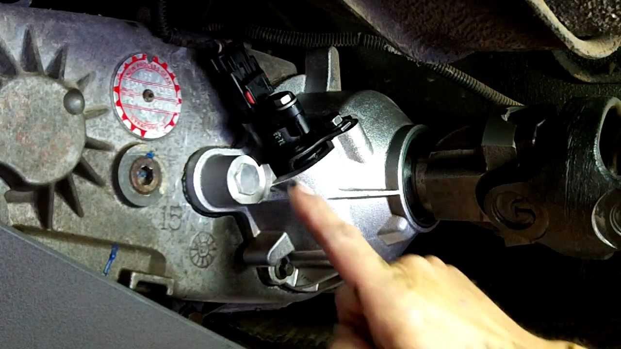 Jeep Wrangler Cherokee Speedometer Gear Change Part 2