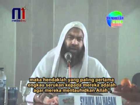 Syaikh Ali Hasan - Manhaj Dakwah Para Nabi 6/9