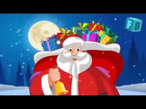 Jingle Bells Song | Christmas Carol | Flickbox Nursery Rhymes and Kids Songs
