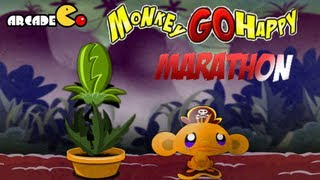 Monkey Go Happy Marathon Walkthrough All Levels HD
