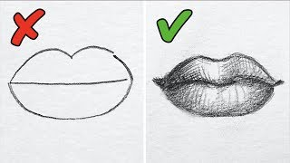 25 DRAWING TRICKS TO DRAW LIKE A PRO