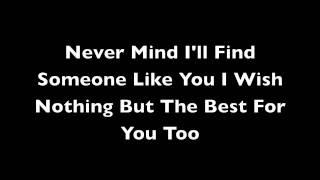 Someone Like You - Adele Lyrics