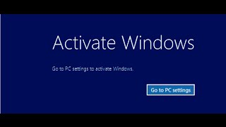 How to get rid of Activation notification on Windows 10 and 8