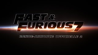 Fast & furious 7 :  bande-annonce 2 VF