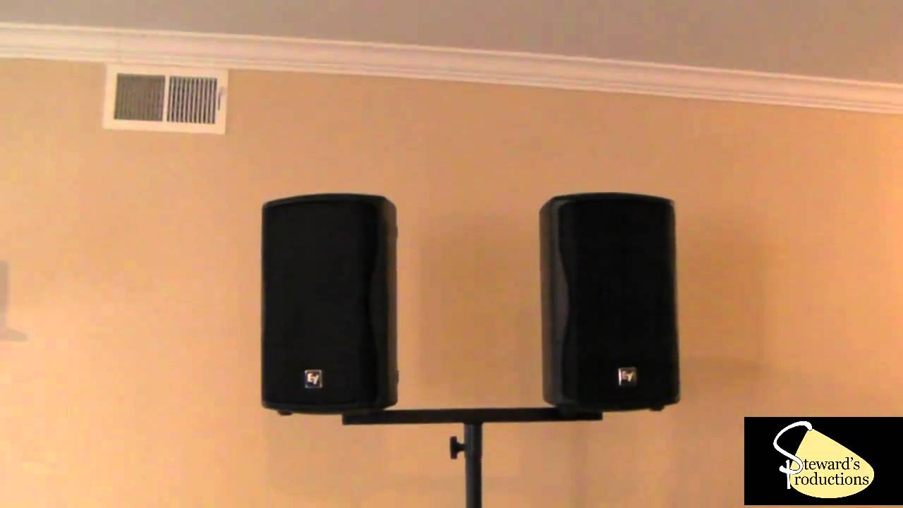 Dual Speaker Bracket Dual Speaker Mount For Dj Stands On