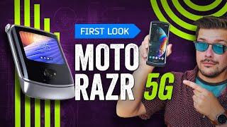Motorola Razr 5G: A Sharp Folding Phone Reboot For 2020 [Hands-On]