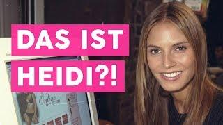 Zeitreise: So sah Heidi Klum als Nachwuchsmodel aus! 😮