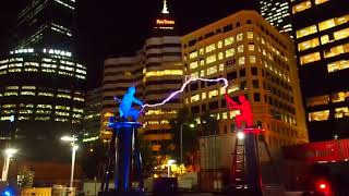 crazy electricity battle is an amazing spectacle