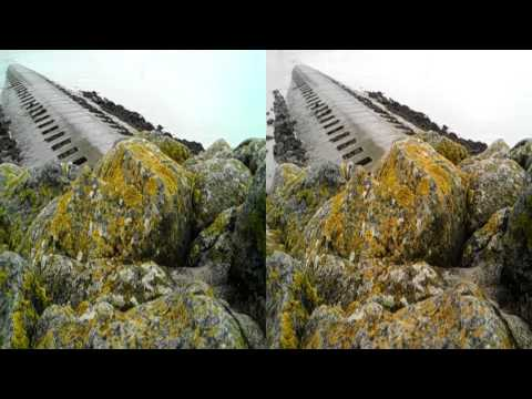 3d stereoscopic SbS Unterems Dollart Emden Ostfriesland