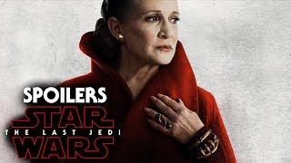 Star Wars The Last Jedi General Leia Scene Spoilers! (Opening Scene)