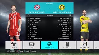 PES 2018   OPTION FILE إضافة الدوري الألماني -