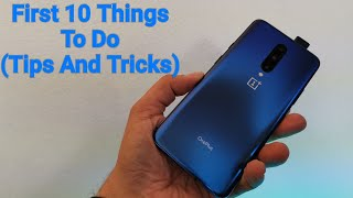 OnePlus 7 Pro First 10 Things To Do (OP7 Tips And Tricks)