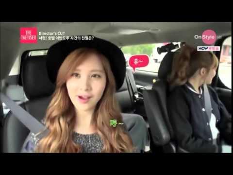 [Eng Sub]Taeyeon & Tiffany interrogating Seohyun