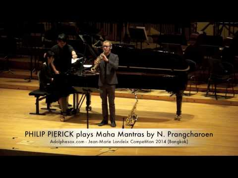 PHILIP PIERICK plays Maha Mantras by Narong Prangcharoen