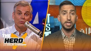 Nick Wright is impressed by Dak, disappointed in Baker Mayfield through two weeks | NFL | THE HERD