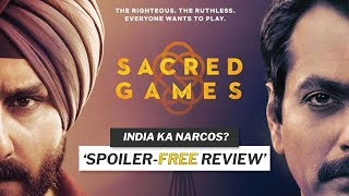 Is Sacred Games the *BEST* Indian TV Series? 🔥 | Netflix Sacred Games Season 1 Review