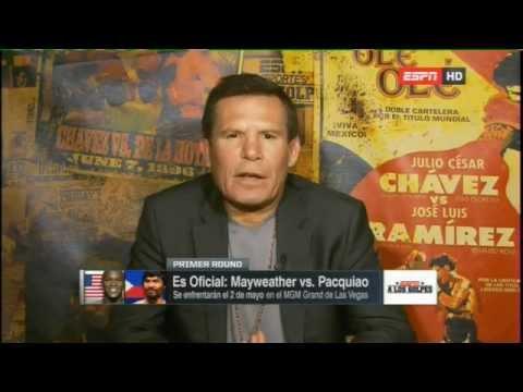 A LOS GOLPES - Todo sobre Pacquiao vs Mayweather 2015
