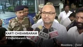 Karti Chidambaram Calls P Chidambaram's Arrest As A Political Vendetta