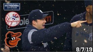 New York Yankees Highlights: vs Baltimore Orioles | 8/7/19