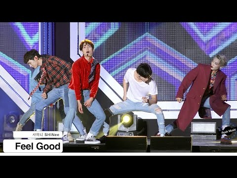 샤이니 SHINee[4K 직캠]Feel Good@20161015 Rock Music