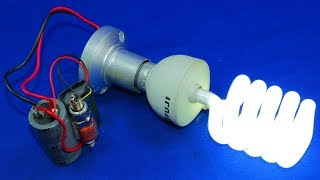 FREE ELECTRIC ELECTRICITY GENERATOR 9V TO 220V NEW TECHNOLOGY 2019 NEW IDEA PROJECT WITH MAGNET