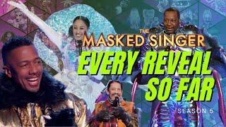 Masked Singer Reveals Season 5 - So Far