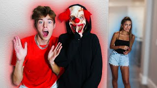 SCARY HALLOWEEN PRANKS ON MY FRIENDS!!